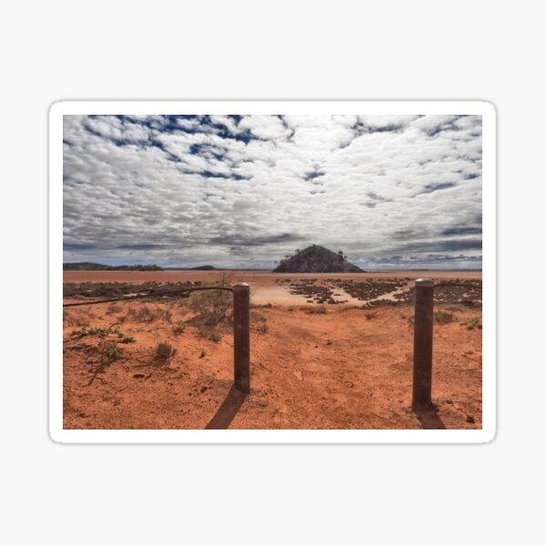 Lake Ballard Western Australia Sticker