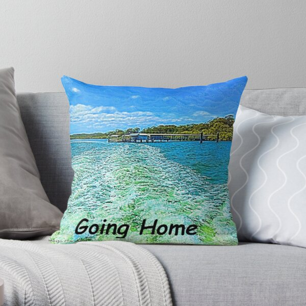 Island Life Pillows Cushions Redbubble