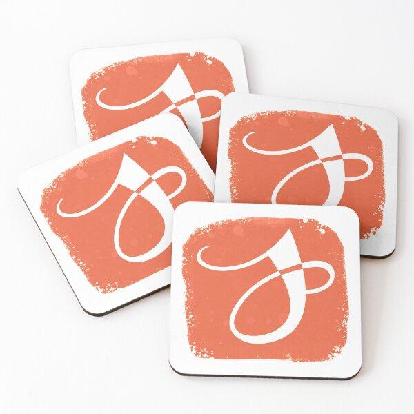 Jenna German Logo Coasters (Set of 4)