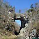 Natural Bridge in Shenandoah Valley, VA by Debbie Robbins