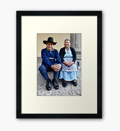 For 33 Years Framed Print