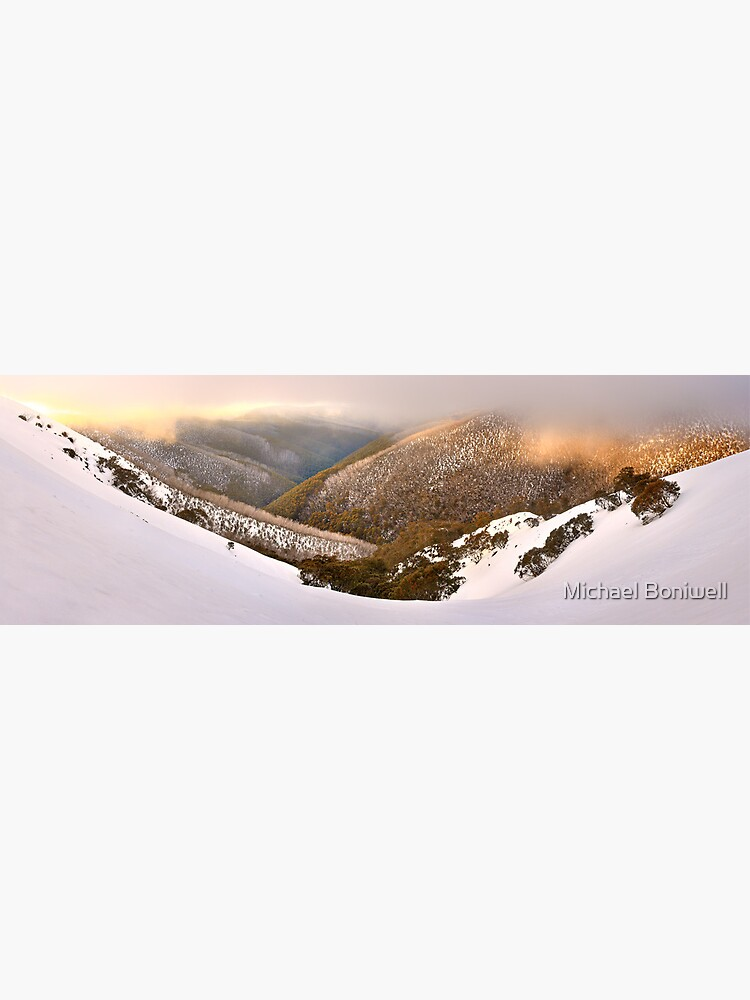 Foggy Dawn, Mt Hotham, Australia by Chockstone