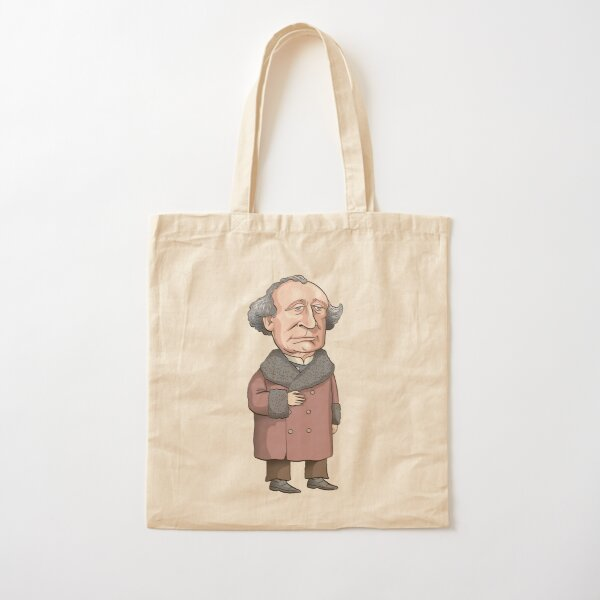 John A. Macdonald Cotton Tote Bag