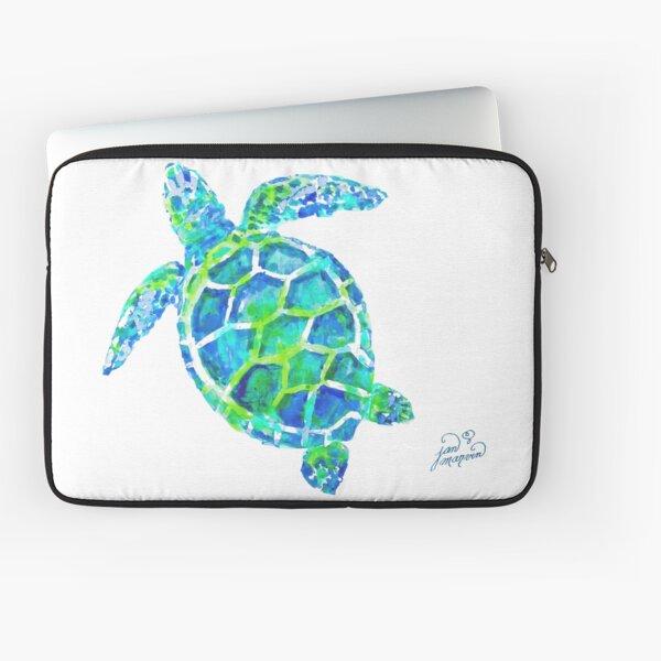 Sea Turtle no splots by Jan Marvin Laptop Sleeve