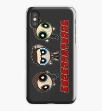 Supernatural Puffs Parody iPhone Case
