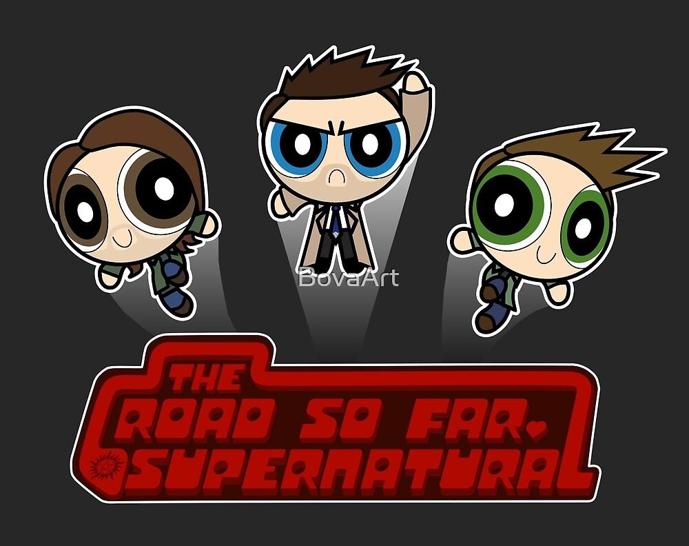 Supernatural Puffs Parody by BovaArt