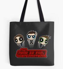 Supernatural Puffs Parody Tote Bag
