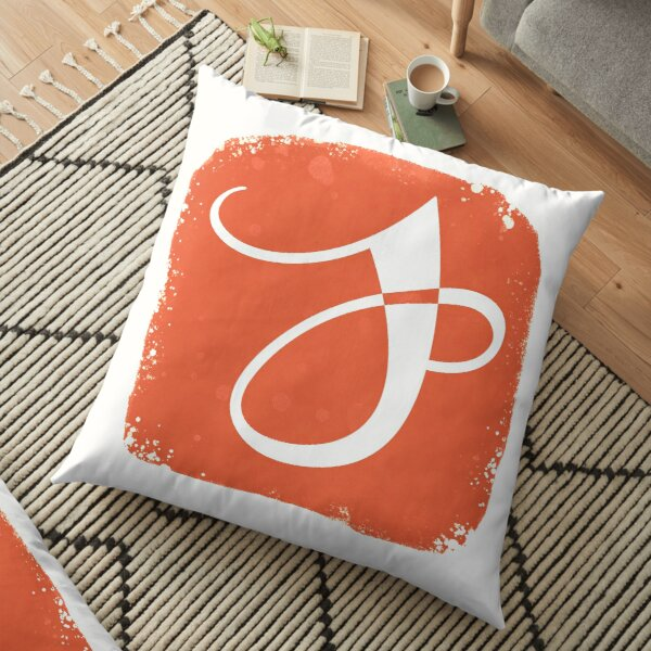 Jenna German Logo Floor Pillow