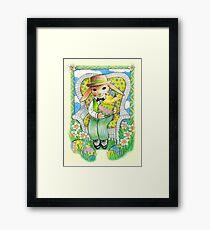Easter Rabbit's Surprise  Framed Print
