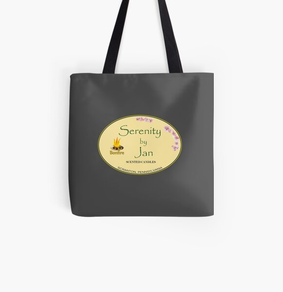 Serenity by Jan All Over Print Tote Bag