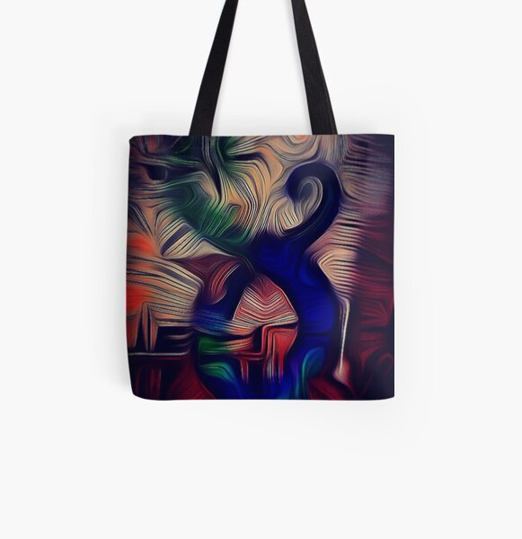Taniwha Guardian All Over Print Tote Bag