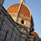 Church Dome of St. Mary of Flowers by Karen E Camilleri