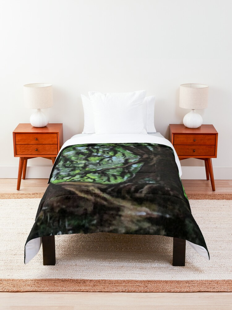 Alternate view of Trees No1. Comforter