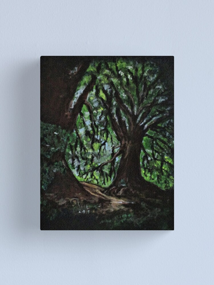 Alternate view of Trees No1. Canvas Print