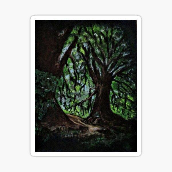 Trees No1. Sticker