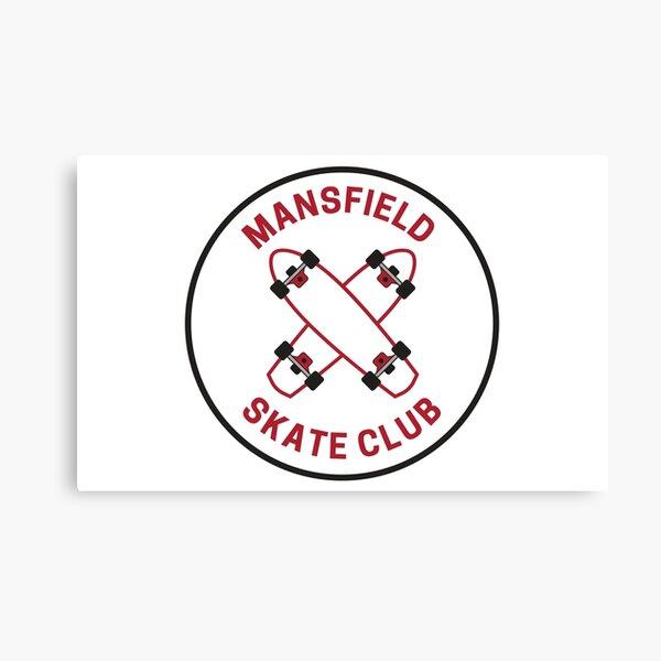 Vintage Mansfield Pennsylvania Skate Club Canvas Print