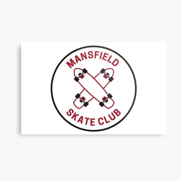 Vintage Mansfield Pennsylvania Skate Club Metal Print