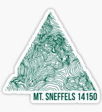 Mount Sneffels Sticker