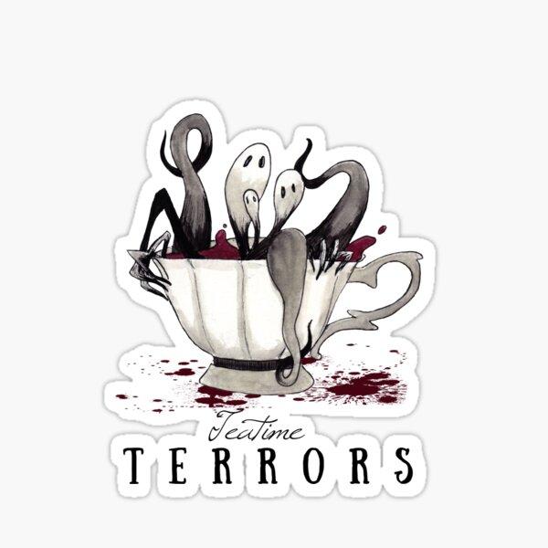 Teatime Terrors Sticker