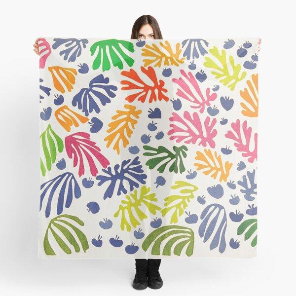 Matisse Floral Pattern Scarf