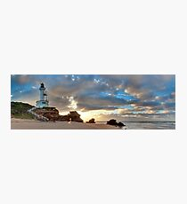 Point Lonsdale Lighthouse Awakens, Australia Photographic Print