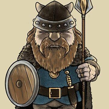 Glumli the Dwarf by HenryGaudet