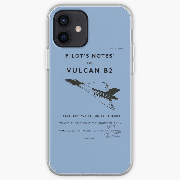 Pilot's Notes for Vulcan B2 iPhone Soft Case