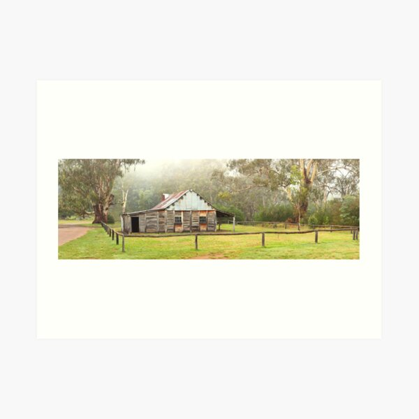 Frys Hut, Howqua Hills, Victoria, Australia Art Print