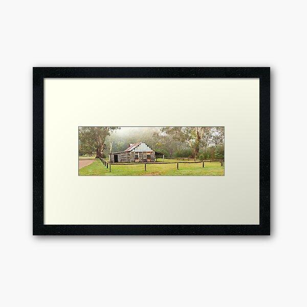 Frys Hut, Howqua Hills, Victoria, Australia Framed Art Print