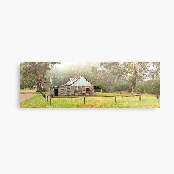 Frys Hut, Howqua Hills, Victoria, Australia Metal Print