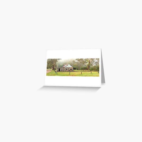 Frys Hut, Howqua Hills, Victoria, Australia Greeting Card