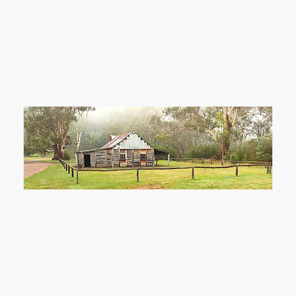 Frys Hut, Howqua Hills, Victoria, Australia Photographic Print