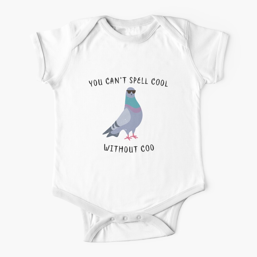 Cool pigeon Baby One-Piece
