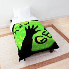 Aww Geez Portal Rick And Morty Comforter