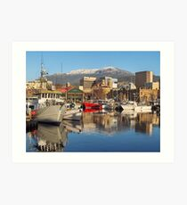 Hobart Harbour Art Print