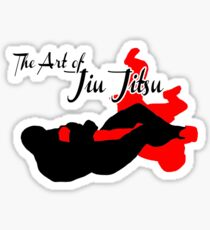 The Art of Jiu Jitsu Arm Bar  Sticker
