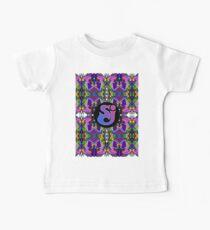 Streichkäse-Vorfall - Trippy-Muster Baby T-Shirt