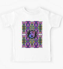 Streichkäse-Vorfall - Trippy-Muster Kinder T-Shirt