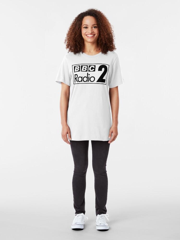 Alternate view of NDVH Radio 2 - 1970 Slim Fit T-Shirt
