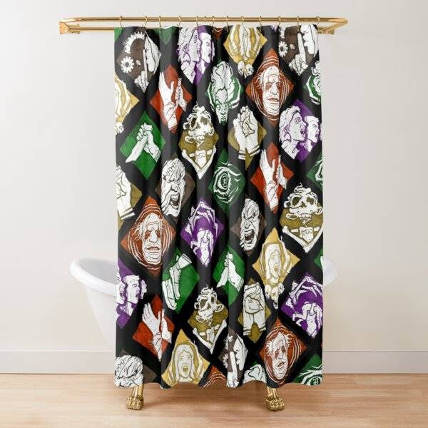Dead by Daylight Perks Shower Curtain