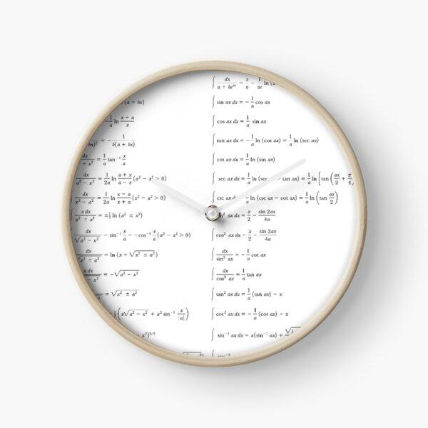 #Math, #Mathematics, #Integrals, #formulas, Calculus, Number, document, design, text, calligraphy, writing, abstract, language Clock