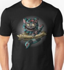 The Zombie  Cheshire Cat T-Shirt