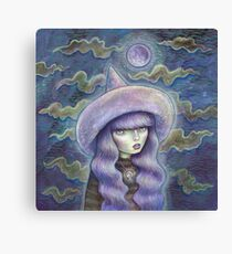 Witch Moon Canvas Print