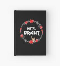 Metal Braut für den Junggesellinnenabschied Heavy Metal Girl - Glaube und Wahrheit Notizbuch