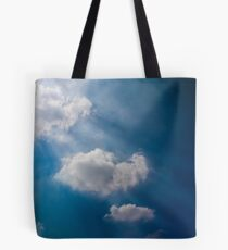 Beautiful sky with drama going on Tote Bag