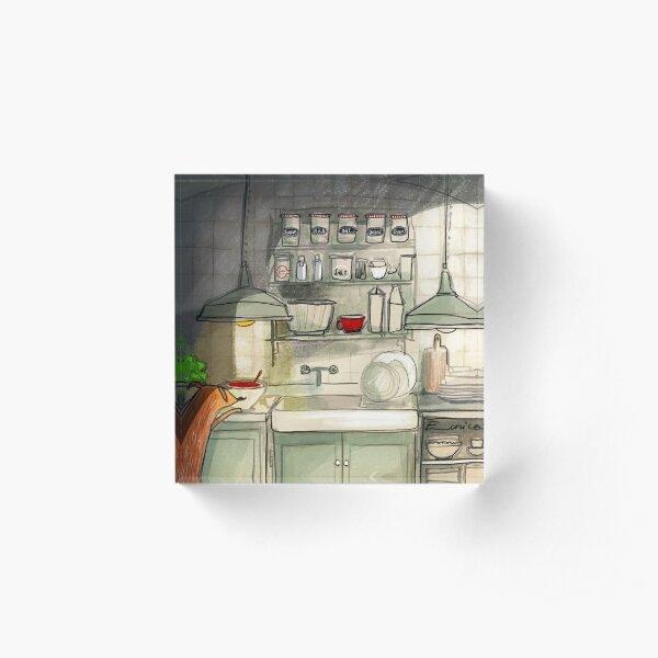 Kitchen Friend Acrylic Block