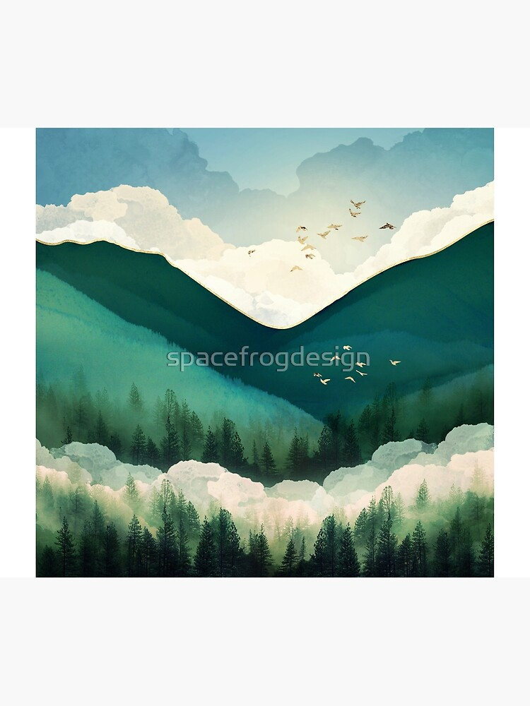 Emerald Hills by spacefrogdesign