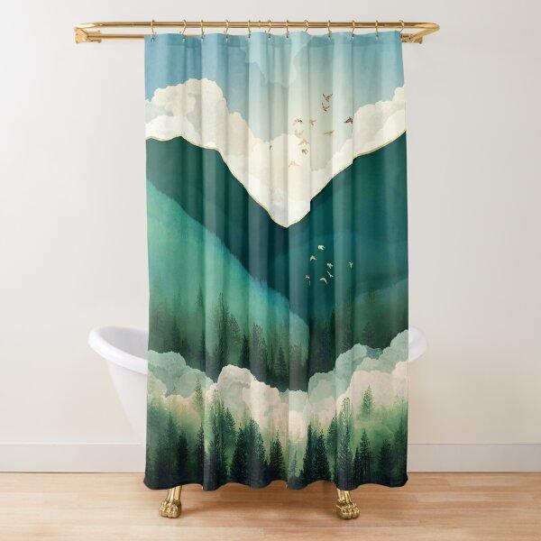 Emerald Hills Shower Curtain