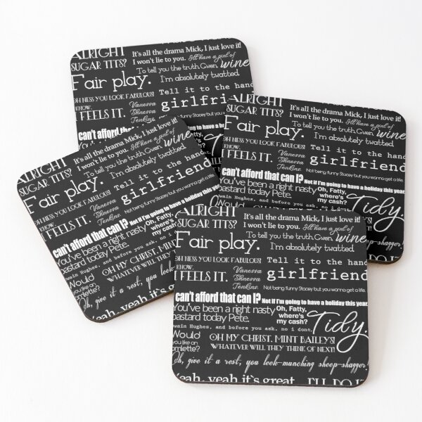 Gav & Stace quotes  Coasters (Set of 4)