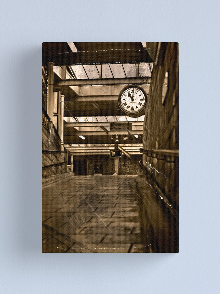 Alternate view of Carnforth station (A Brief Encounter)  Canvas Print